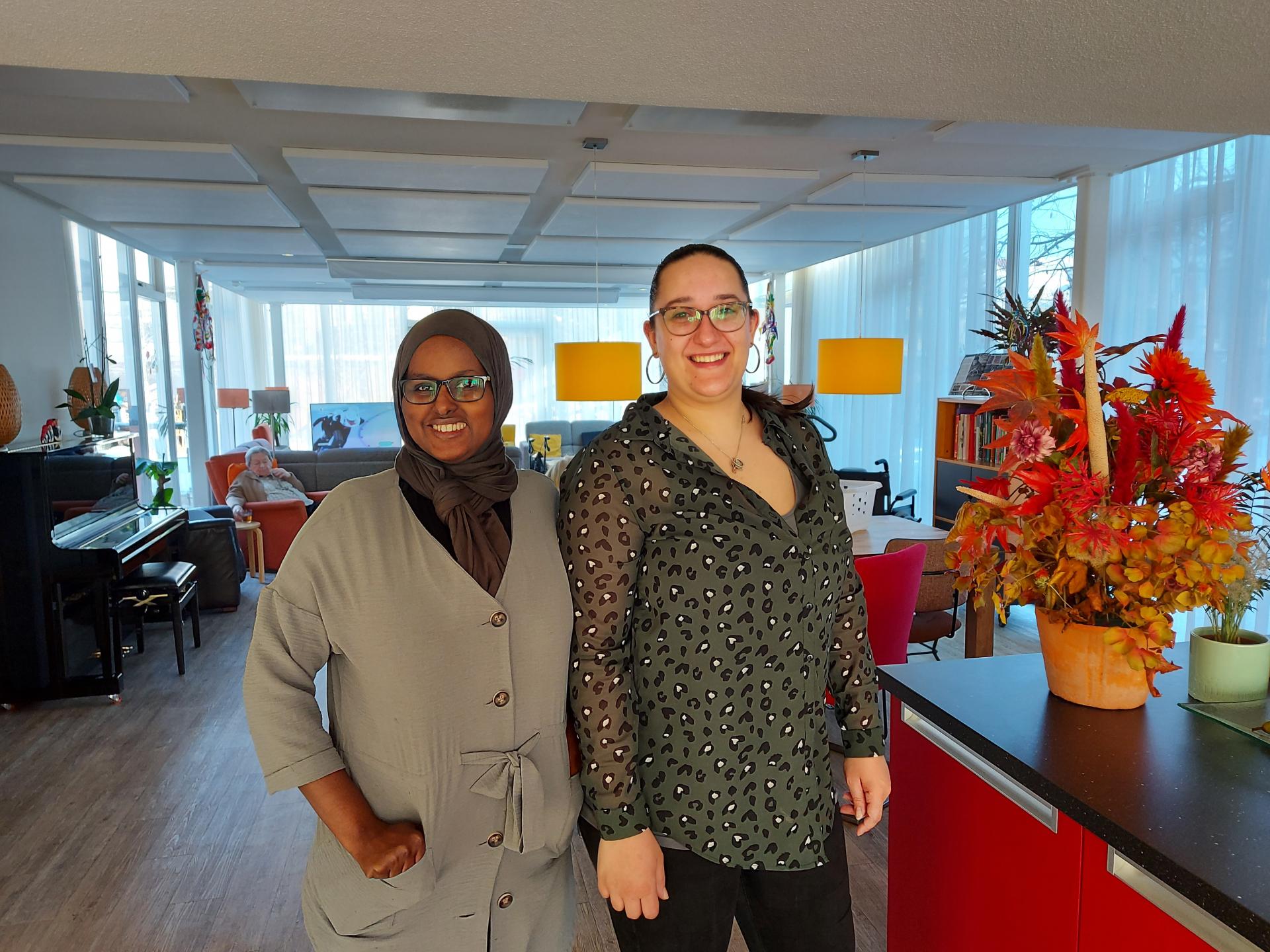 Herbergier biedt Shirley en Nimco een leerwerkplek - WSP Werkhart